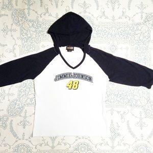 Jimmy Johnson Hoodie T-Shirt Size S